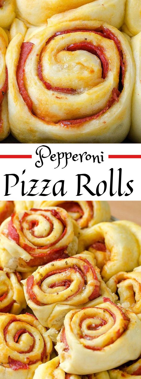 Pepperoni Pizza Rolls  #recipe #healthy