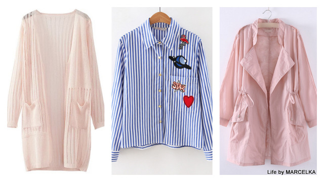 www.shein.com/Pink-Asymmetric-Elastic-Waist-Pocket-Coat-p-295774-cat-1735.html?utm_source=www.lifebymarcelka.pl&utm_medium=blogger&url_from=lifebymarcelka