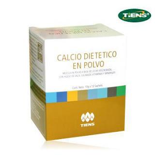 Calcio dietetico en Polvo Tiens