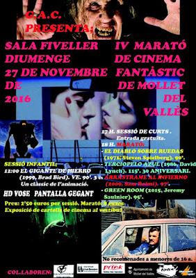 IV Marató de Cinema Fantàstic de Mollet