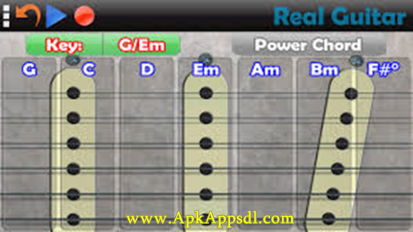 Real Guitar Free v3.0.2 Apk (Music & Audio App) Latest Version Gratis 2016 Free Download