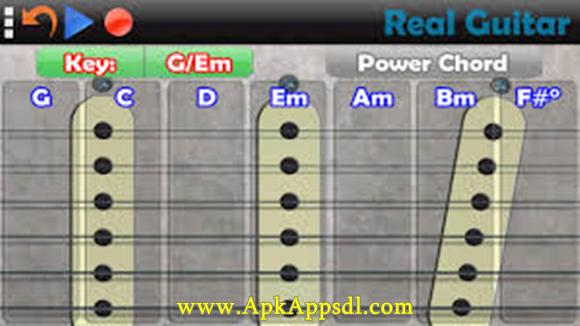 Real Guitar Free v3.0.2 Apk (Music & Audio App) Latest Version Gratis 2016 Free Download