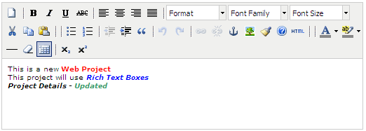 Asp Net Free Rich Text Editor using Tiny MCE Editor - Custom