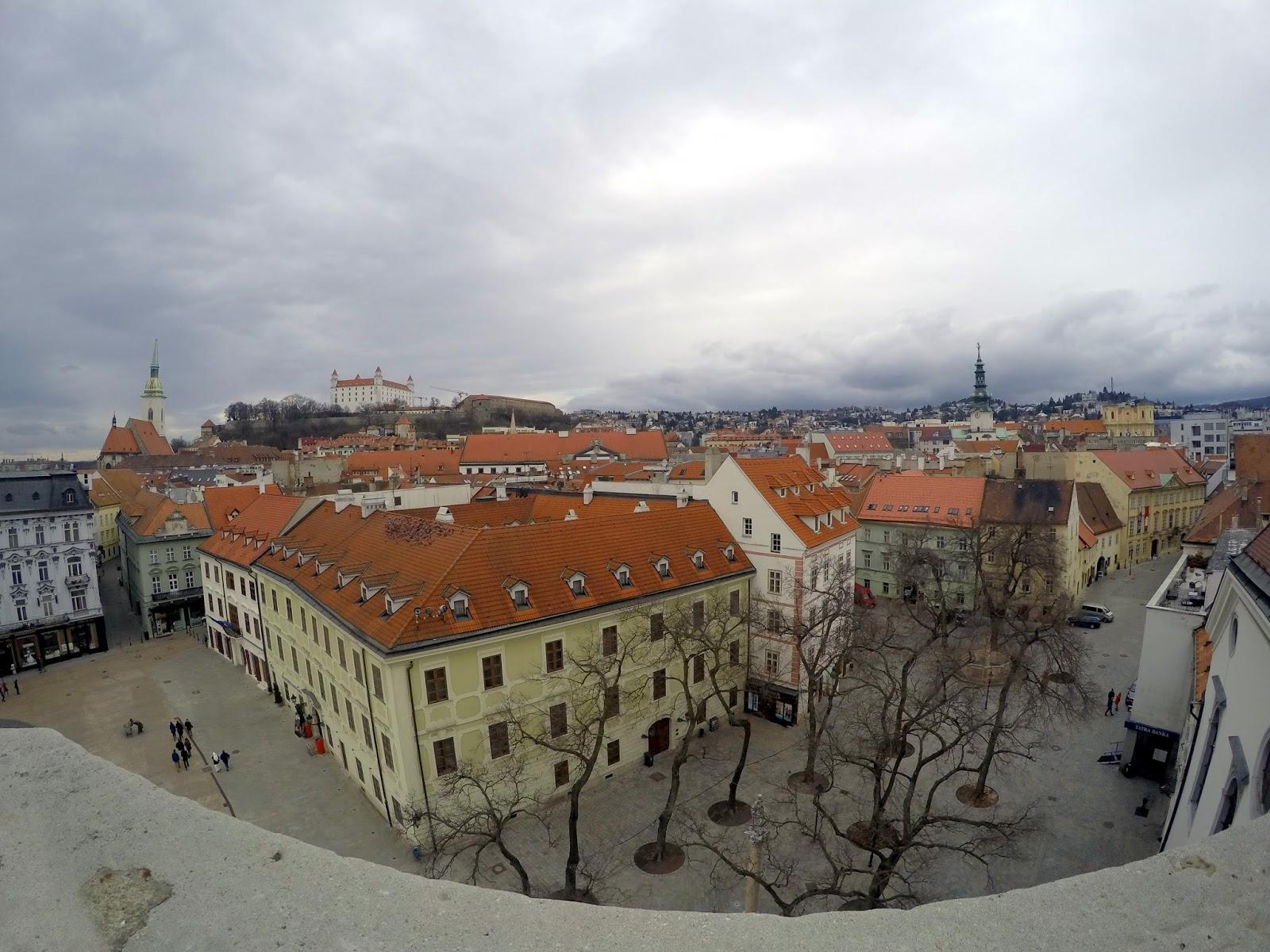 Slovakia, Bratislava, off the beaten track, eastern europe, eu, historical city, on the danube, ufo, bridge, communist, old town hall view