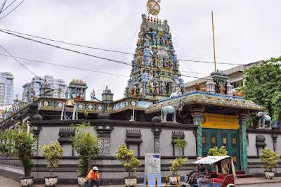 Bangunan India di Kampung Keling - Medan