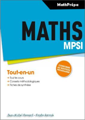 Télécharger Livre Gratuit Maths MPSI, tout-en-un pdf