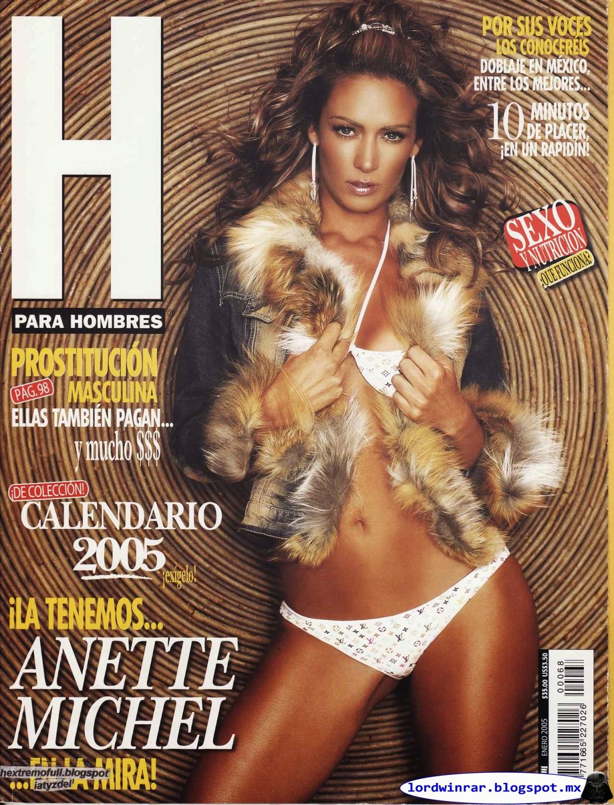 Anette Michel - H para Hombres 2005 Enero (14 Fotos)   Blog De Lord ...