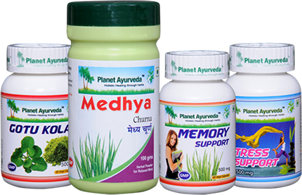 Depression Care Pack, Ayurvedic herbs for depression, Herbal remedies for depression