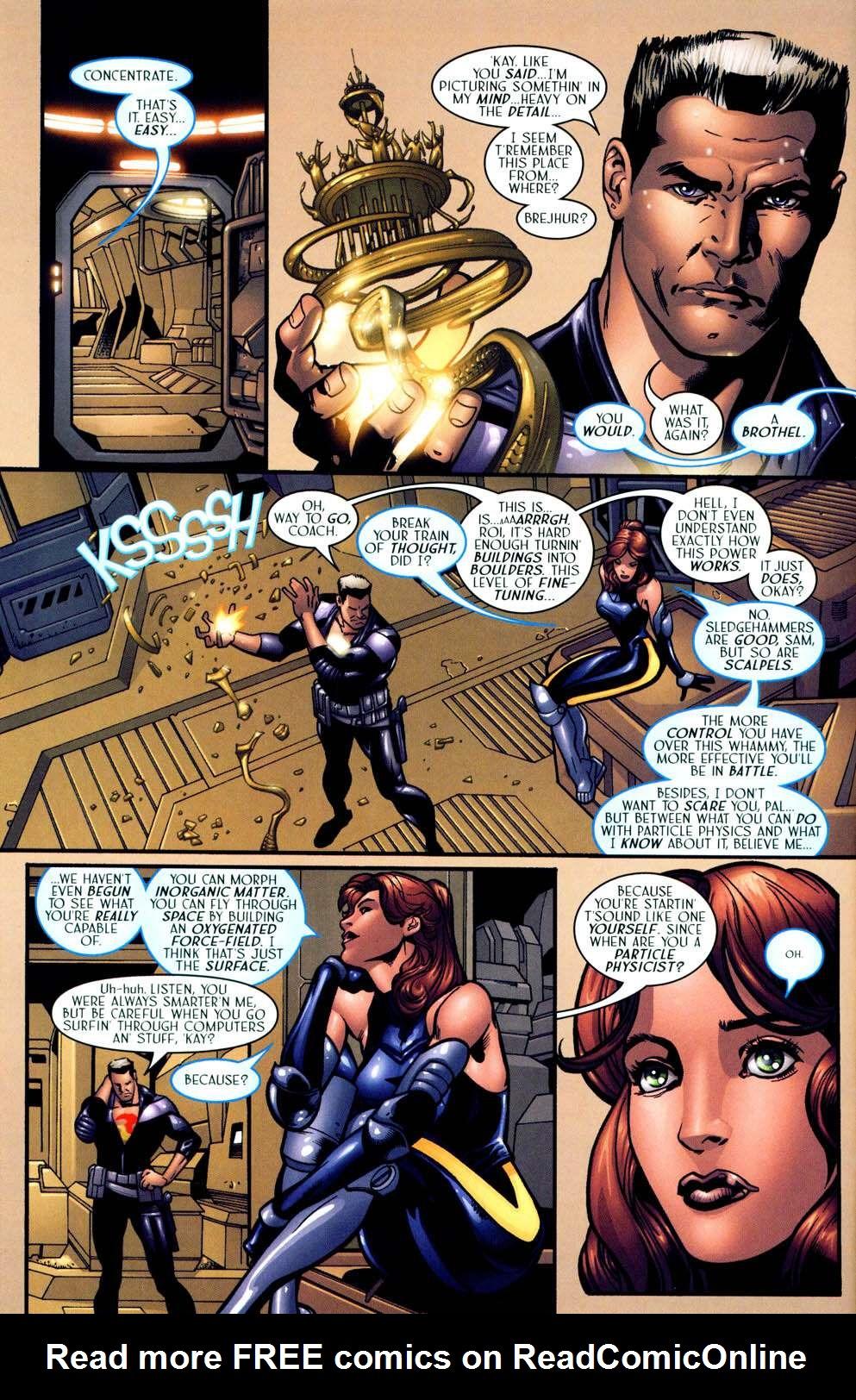 Read online Sigil (2000) comic -  Issue #13 - 14