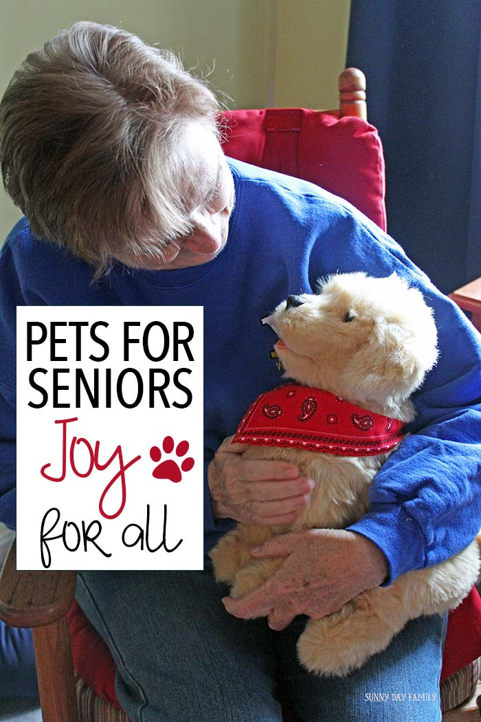 Give your senior loved ones the joy and companionship of a pet without the work and responsibility! These pets are really amazing - you have to check them out!