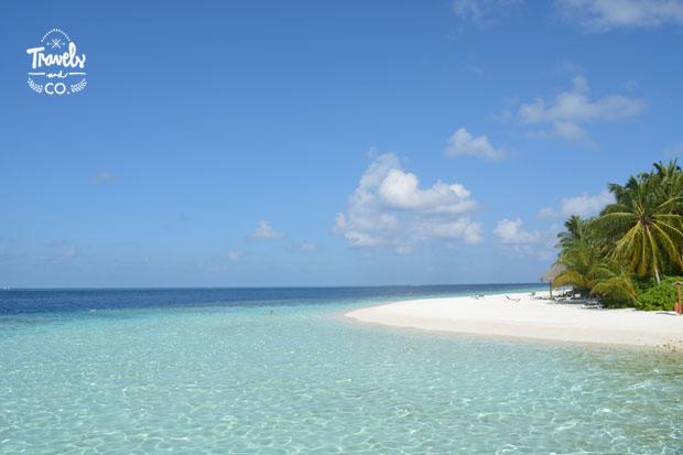 Guia viaje de las islas Maldivas playa hotel