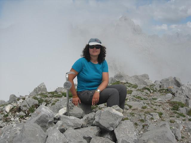 Rutas Montaña Asturias: Foto de cima del Canto Cabronero
