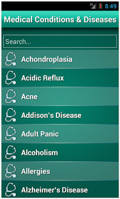 Medical Diseases Dictionary Free download - Android Trend