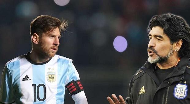 Maradona: Messi Satu Kalipun Nggak Bersalah