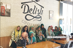 Lowongan Kerja Padang: Delish Coffee & Eatery Agustus 2018