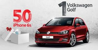 Vodafone Volkswagen Golf Kazandırıyor