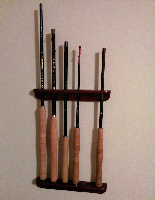 tenkara-rod-wall-display