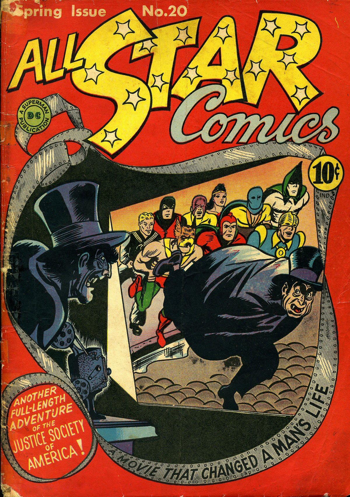 Read online All-Star Comics comic -  Issue #20 - 2