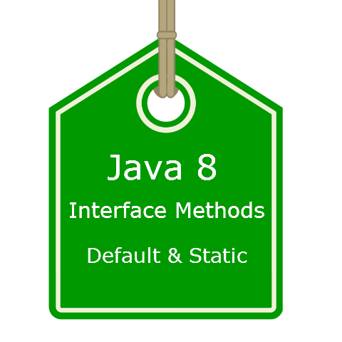 Java 8 interface static and default methods