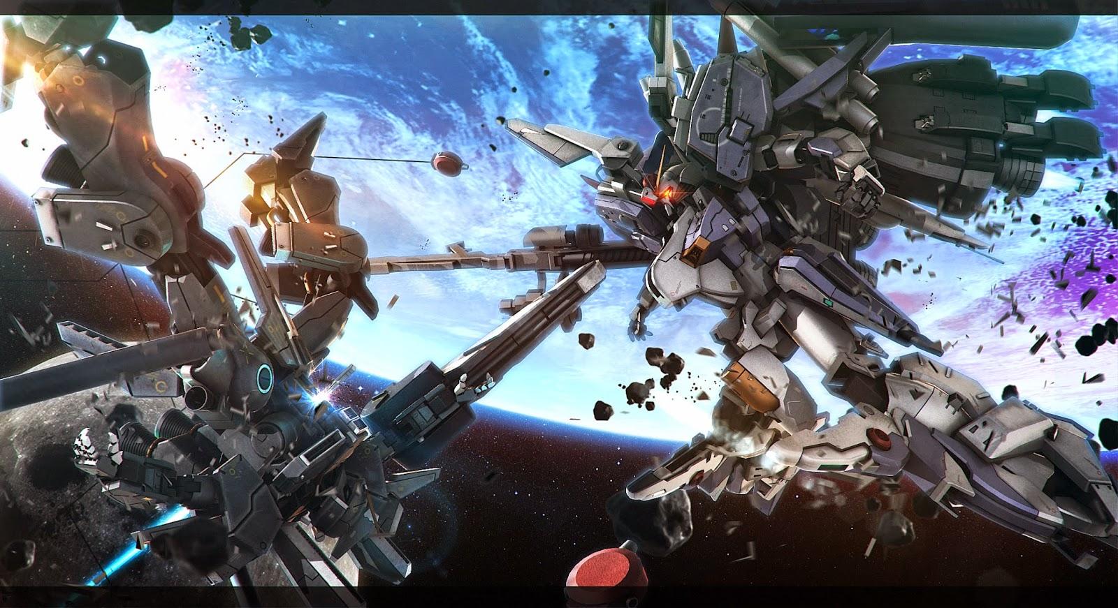 Gundam Ex S Vs Gundam Mk V Wallpaper By Hsiry Gundam Kits Collection News And Reviews