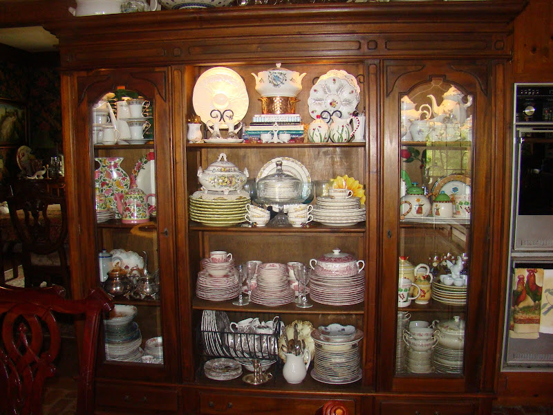 Christine\'s Home and Travel Adventures: Rearranging Dishes ...