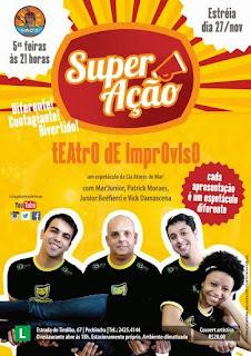 Entretenimento 'Super Ação' estreia dia 27 de novembro