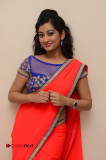 Actress Tejaswini Pictures in Saree at Pratikshanam Audio Launch  0021.JPG