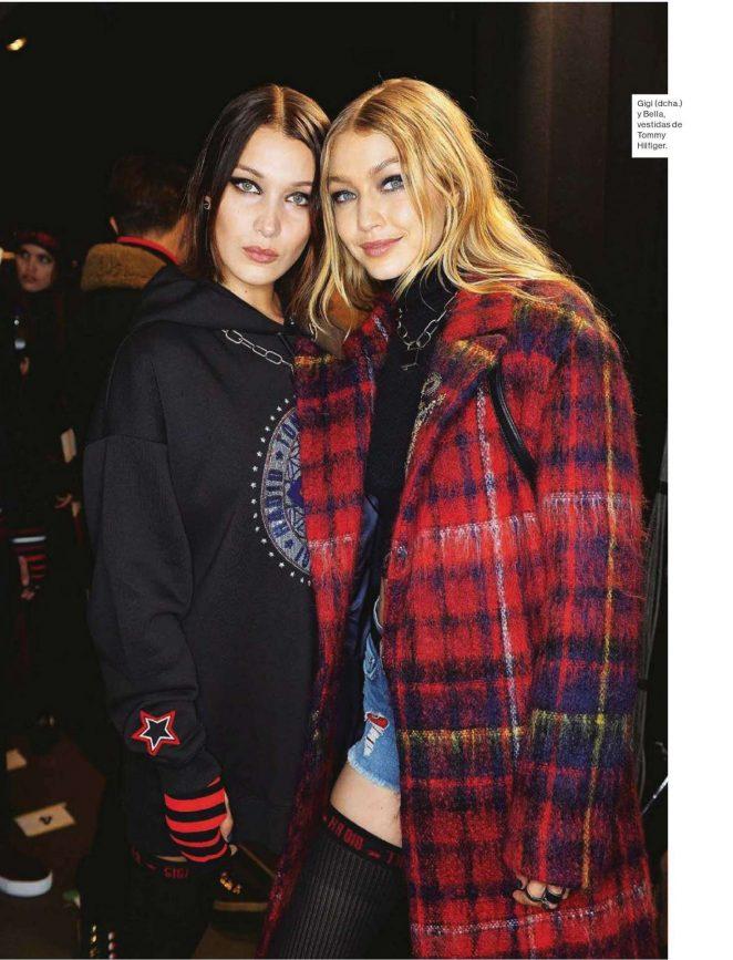 Gigi and Bella Hadid – Mujer Hoy Magazine