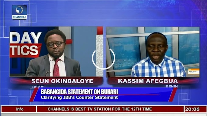 IBB Ordered The Statement Against Buhari; Kassim Afegbua