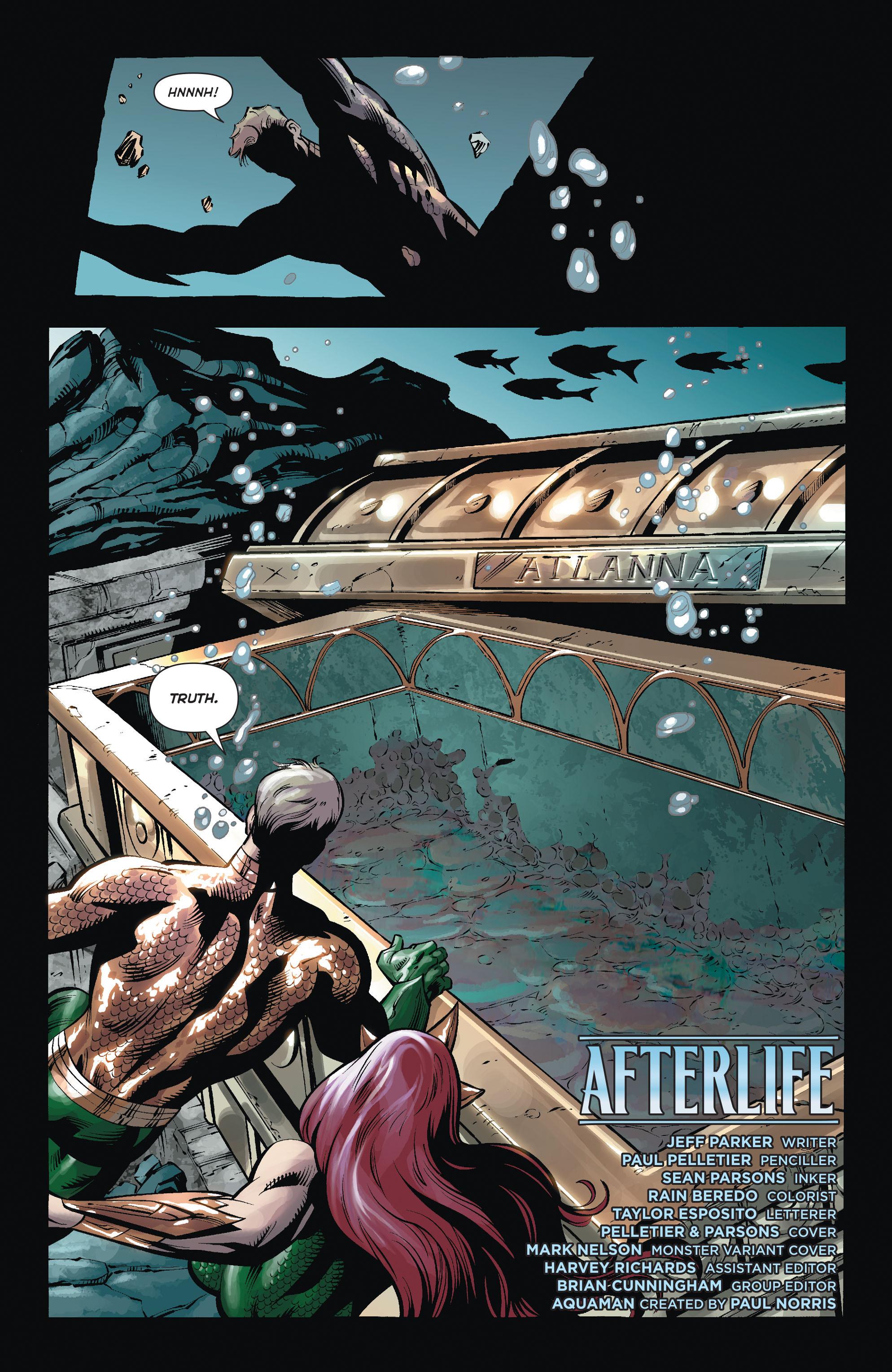 Read online Aquaman (2011) comic -  Issue #35 - 20