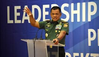 Gatot Nurmantyo menuai kritik dari politikus PDI Perjuangan Riska Mariska