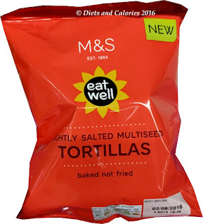 M&S Eat Well Multiseed Tortillas