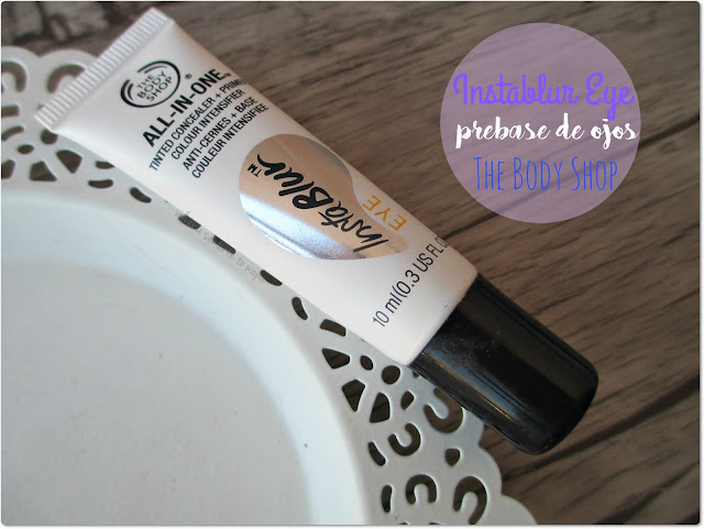 InstaBlur Eye, la prebase de ojos de The Body Shop