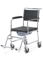 Rolling Shower Chair Commode