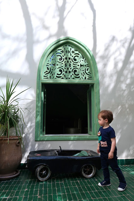 restaurante le jardin medina Marrakech a golpe de objetivo