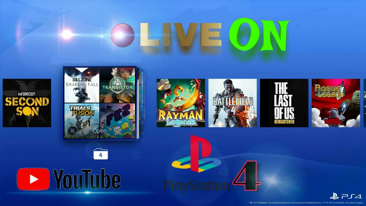 GAME PS4 LIVE STREAMING