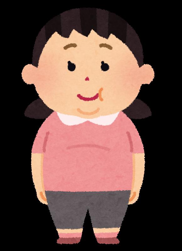 図:子供の肥満は若年脳梗塞のもと