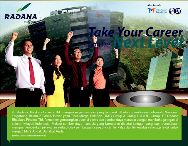 Lowongan Kerja di PT. Radana Bhaskara Finance Cabang Kebumen