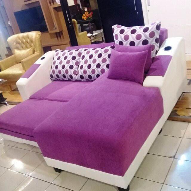 Model Sofa L Bed Modern Terbaru