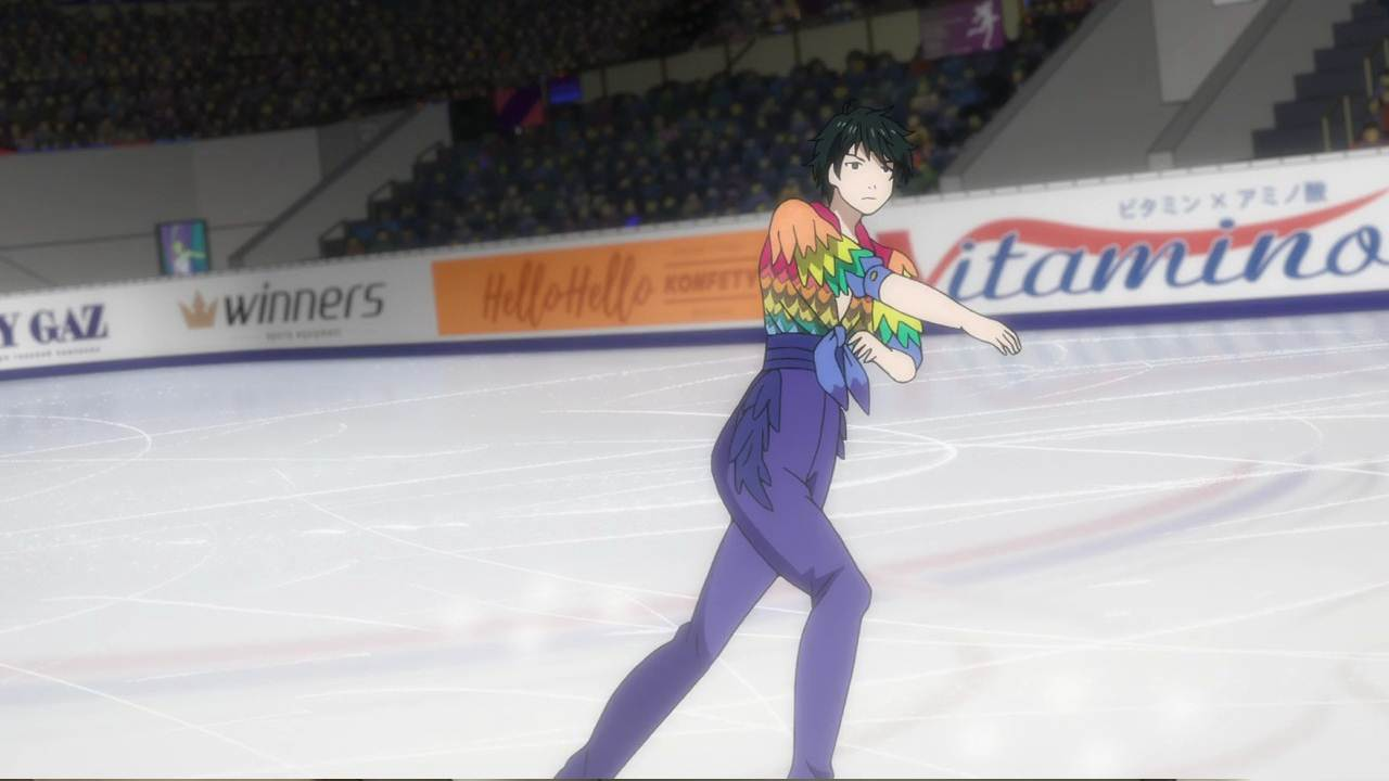Yuri on Ice cap 8 sub español