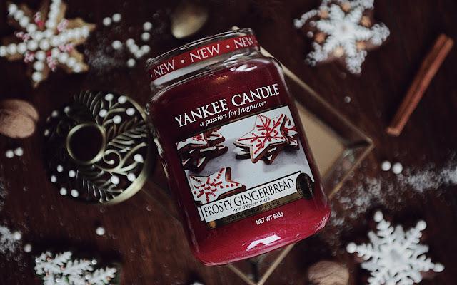 Frosty Gingerbread Yankee Candle, czyli moje pierwsze spotkanie z piernikową świecą - Czytaj więcej »