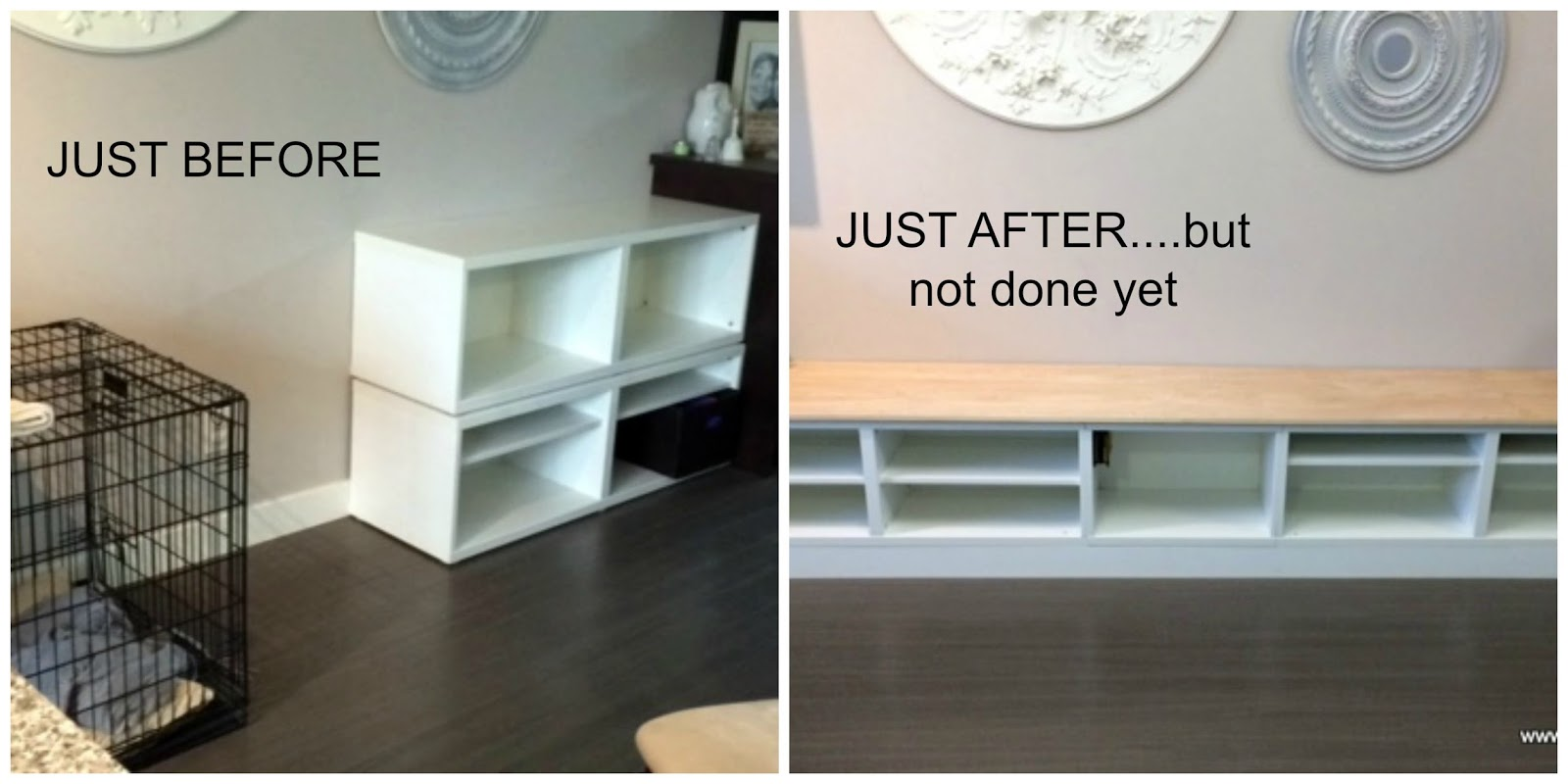 An Ikea Hack With Besta Tv Units