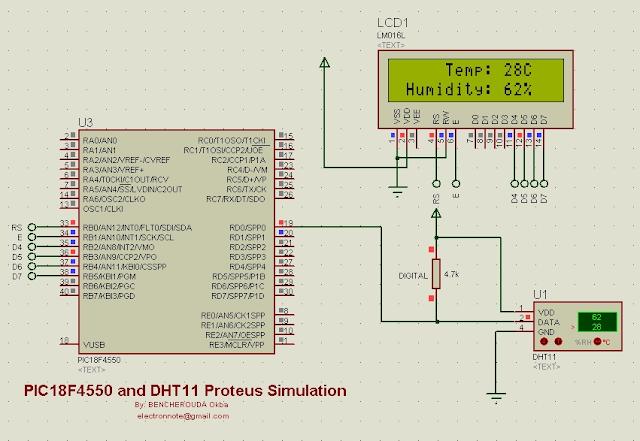 dht11 proteus simulation dhtxx.mdf