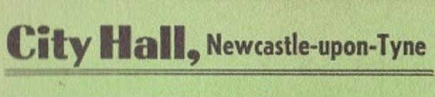 27 Nov 1979, City Hall, Newcastle-upon-Tyne - ACR Gigography