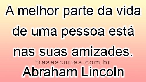 frases de Abraham Lincoln