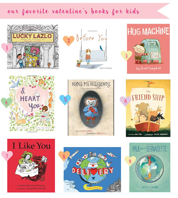 Some of the best Valentine's Day books for kids. Exploring friendship, first crushes, new love and more.