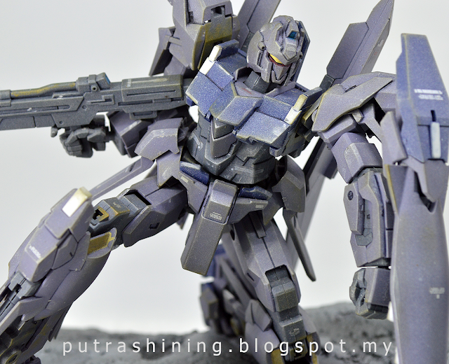 HGUC 1/144 MSN-001A1 DELTA PLUS custom by Putra Shining