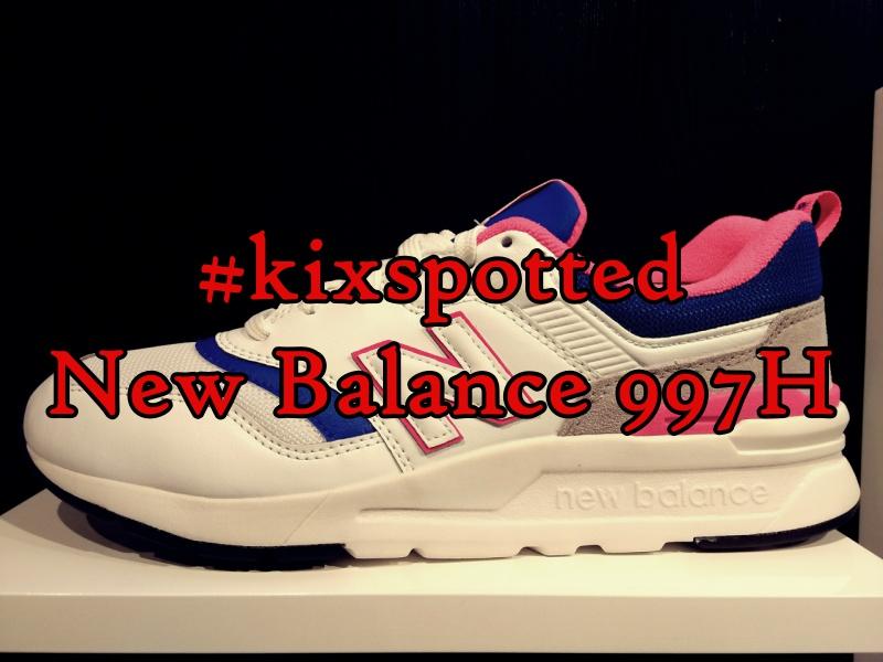 huge selection of 827c8 556f6 kixspotted  New Balance 997H   Analykix