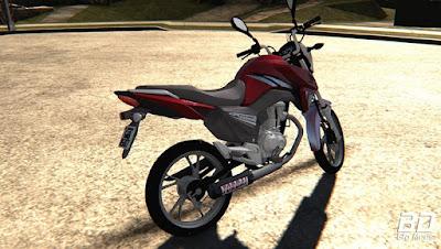 Download mod moto Honda Cg160 Titan Montadinha para GTA San Andreas.