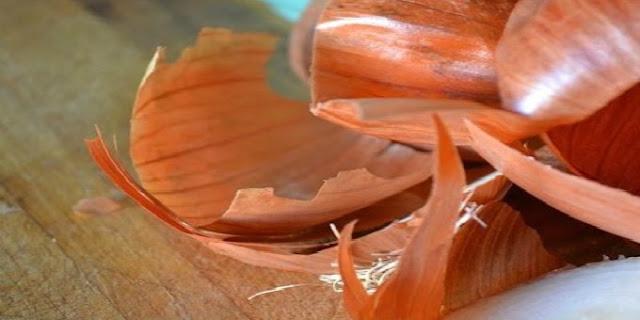 قشور البصل